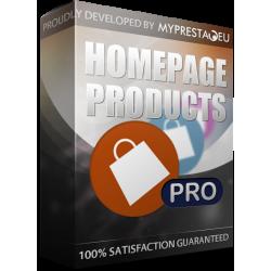 ماژول حرفه ای پرستاشاپ 1.5.7 Prestashop Homepage Products Pro